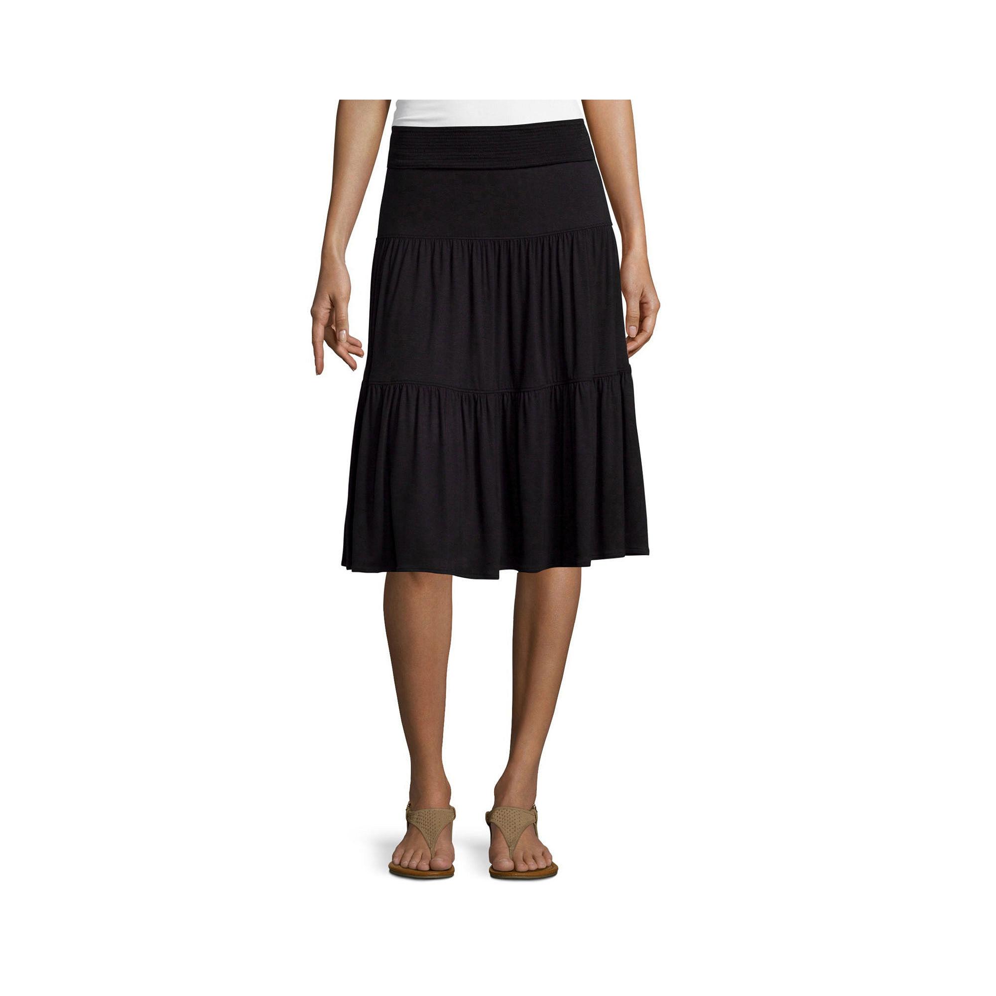 St. John's Bay Knit Skirt plus size,  plus size fashion plus size appare