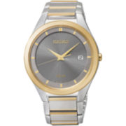Seiko® Mens Two-Tone Watch