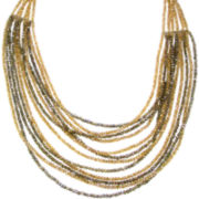 Pannee Crystal Multi-Strand Necklace
