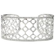 Diamond Addiction 1/10 CT. T.W. Diamond Geometric Cuff Bracelet