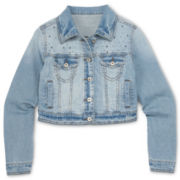 Total Girl® Denim Jacket - Girls 6-16 and Plus