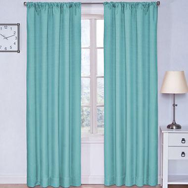 Eclipse Kids Kendall Rod Pocket Blackout Curtain Panel