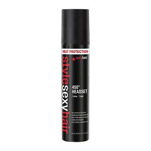 Style Sexy Hair® 450° Headset Heat Defense Setting Spray - 8.5 oz.