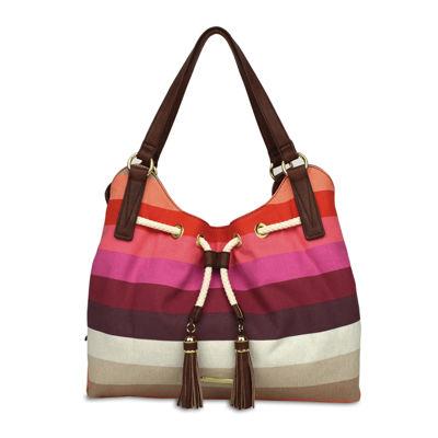 Liz Claiborne Leanne 4-Poster Shoulder Bag