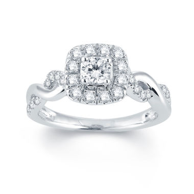 jcpenney.com | Modern Bride® Signature 3/4 CT. T.W. Diamond 14K White Gold Engagement Ring