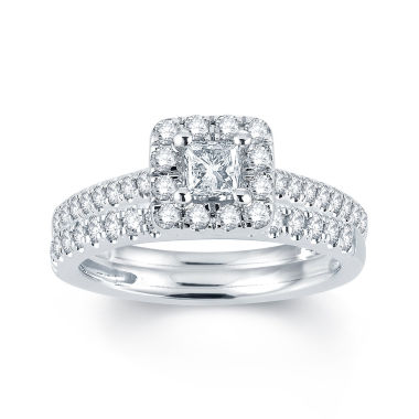 jcpenney.com | Modern Bride® Signature 1 CT. T.W. Diamond 14K White Gold Engagement Ring