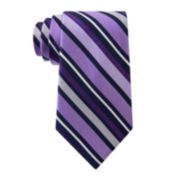 Stafford® Boardroom Stripe Silk Tie