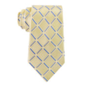 Stafford® Lakeside Grid Silk Tie - Extra Long