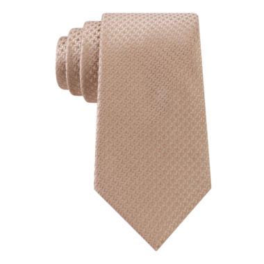 jcpenney.com | Stafford® Windmill Solid Silk Tie - Extra Long