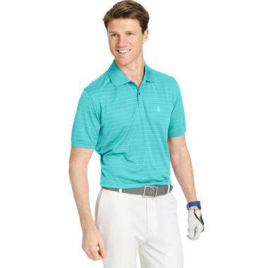 jcpenney.com | IZOD® Golf Textured Striped Polo