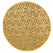 Feizy Rugs® Tahla Spade Indoor/Outdoor Round Area Rug