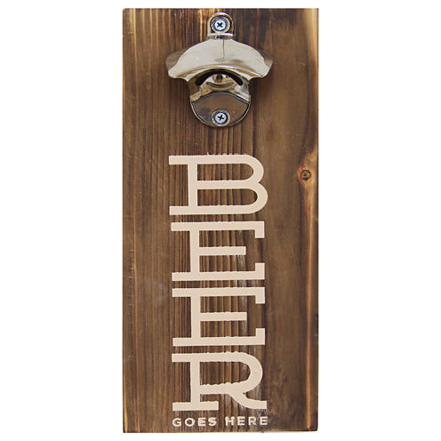 Stratton Home Décor Beer Bottle Opener Wall Décor