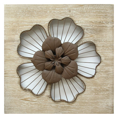 jcpenney.com | Stratton Home Décor Rustic Flower Wall Décor