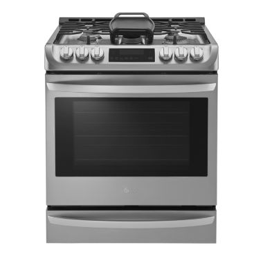 jcpenney.com | LG 6.3 cu. ft. Capacity Gas Slide-In Range with ProBake Convection™ and EasyClean®