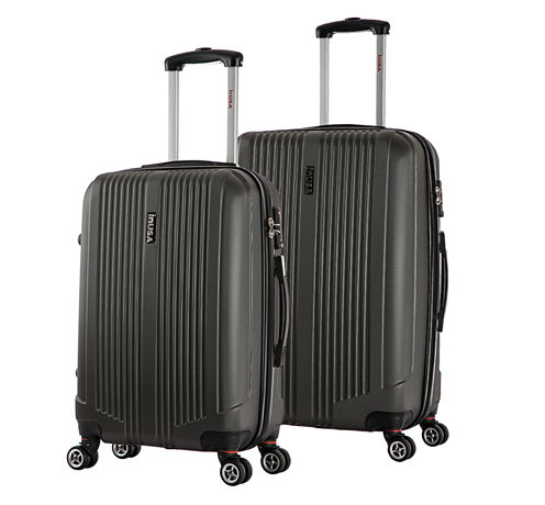 InUSA San Francisco Lightweight Hardside Spinner 2-pc Medium and Large Luggage Set