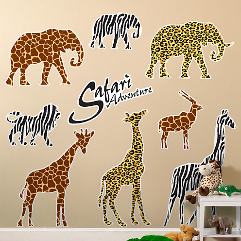 Safari Adventure Party Giant Wall Decorations