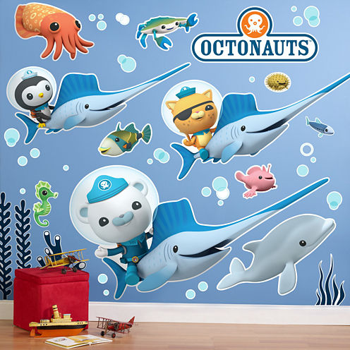 The Octonauts Giant Wall Decals