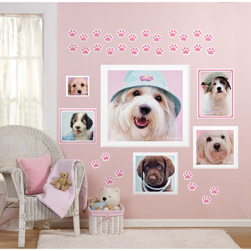 rachaelhale Glamour Dogs Giant Wall Decals
