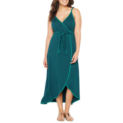Spense Sleeveless Stripe Maxi Dress by Spense
