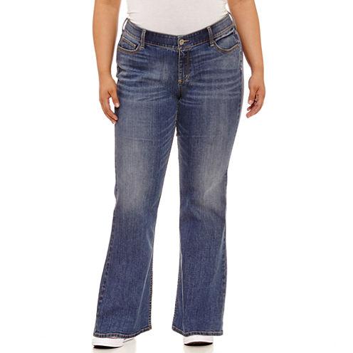 Arizona Bootcut Jeans - Juniors Plus