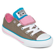 Converse® Chuck Taylor All-Star Girls Double-Tongue Sneakers - Little Kids