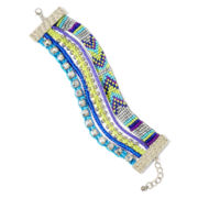Arizona Multicolor Bead 5-Row Bracelet