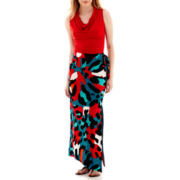 Worthington® Cowlneck Top or Slit Maxi Skirt - Tall
