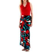 Worthington® Cowlneck Top or Slit Maxi Skirt - Tall