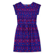 Arizona Shirred-Waist Dress - Girls 7-16
