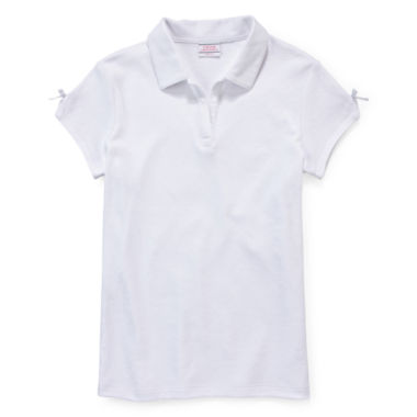 jcpenney.com | IZOD® Bow-Sleeve Polo - Girls 7-18 and Plus