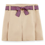IZOD® Ribbon Belt Skort - Preschool Girls 4-6x