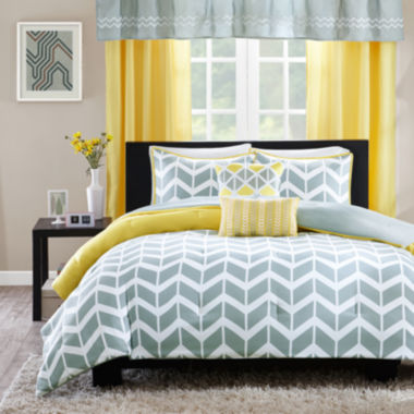 jcpenney.com | Ideology Elle Chevron Comforter Set & Accessories