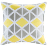 Ideology Elle Square Decorative Pillow