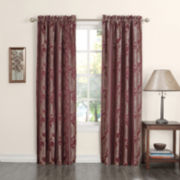 Sun Zero™ Jodi Room-Darkening Rod-Pocket Curtain Panel