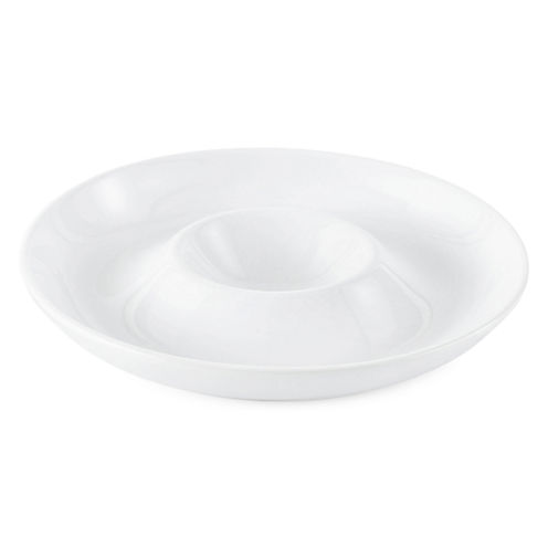 JCPenney Home™ Porcelain Whiteware Chip and Dip Server