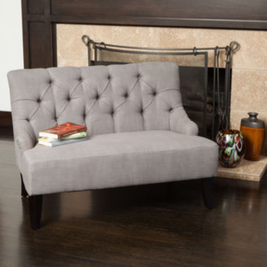 jcpenney.com | Noel Tufted Fabric Settee