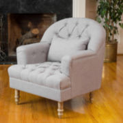 Steele Tufted Chair