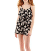 Arizona Sleeveless Print Romper