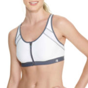 Champion® Zip-Front Sports Bra