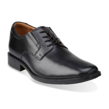 jcpenney.com | Clarks® Tilden Mens Leather Plain-Toe Dress Shoes