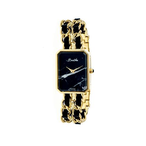 Bertha Womens Josephine Mother-Of-Pearl Silver Bracelet Watchbthbr1501