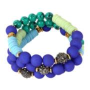 Bleu™ 3 Row Straight Bracelet
