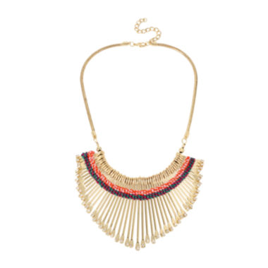jcpenney.com | Bleu™ Statement Gold-Tone Spin Necklace