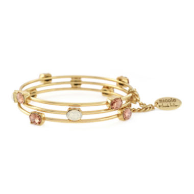 jcpenney.com | nicole by Nicole Miller® 3-pk. Gold-Tone Bangle Bracelet