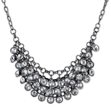 jcpenney.com | 1928® Jewelry Crystal Black-Tone Necklace