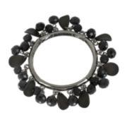 Mixit™ Jet Shakey Flower Petal Bracelet