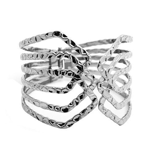 Bold Elements™ Silver Bracelet