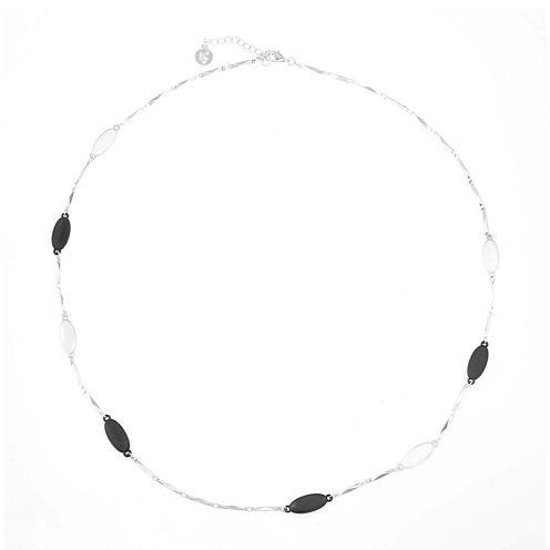 Liz Claiborne® Two-Tone Long Station Necklace