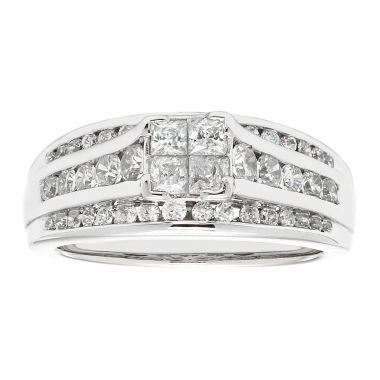 jcpenney.com | LIMITED QUANTITIES2 CT. T.W. Diamond 14K White Gold Engagement Ring