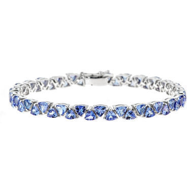 jcpenney.com | LIMITED QUANTITIES Genuine Tanzanite Sterling Silver Bracelet 1